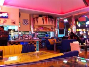 V8 Diner Interior