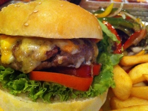 Jamesons Cheese Burger