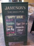 Jamesons Sign