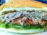 Molly Malone's Beef Burger Cut