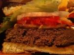 Silver Dollar Cheese Burger Cut