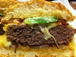 Angus Beef Burger cut